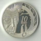 * 10 EURO DE ARGINT IRLANDA, 2006, 28, 4 GRAME, PURITATE 925/1000--RRARA !!, Europa