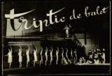 Opera Romana 1968 - Program Triptic de balet Ciudatul trubadur, Ucenicul vrajitor, Preludiile, ilustratii originale