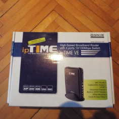 Vand Router Ip Time VE - Router wireless Alta, Porturi LAN: 4, Porturi WAN: 1