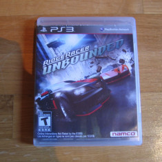 JOC PS3 RIDGE RACER UNBOUNDED ORIGINAL / STOC REAL / by DARK WADDER - Jocuri PS3 Namco Bandai Games, Curse auto-moto, 12+, Single player
