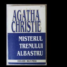 Agatha Christie, Misterul trenului albastru, Excelsior-Multi Press, 223 pag.
