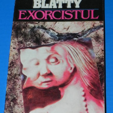 WILLIAM PETER BLATTY - EXORCISTUL. Horror (02044) - Carte Horror