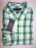 Camasa originala Tommy Hilfiger - barbati M -100% AUTENTIC, Maneca lunga, Multicolor