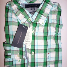 Camasa originala Tommy Hilfiger - barbati M -100% AUTENTIC, Maneca lunga, Multicolor