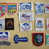 Lot de 16 embleme din nordul Europei