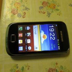 Samsung Galaxy Mini 2 S6500D - Telefon mobil Samsung Galaxy Mini 2, Negru, Orange