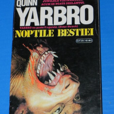 CHELSEA QUINN YARBRO - NOPTILE BESTIEI. Horror (02045)