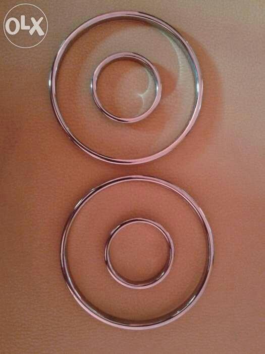 reducere cea mai mică Adidași 2018 noi speciale vand inele cromate si ace insignia pt ceasuri bord astra g ...