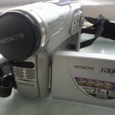 camera video fabricata in Japonia arata si functioneaza excelent  stocare pe mini dvd si card sd  se vinde impreuna cu incarcator,acumulator si husa