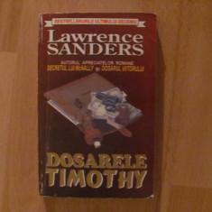 DOSARELE TIMOTHY-LAWRENCE SANDERS-politist - Roman