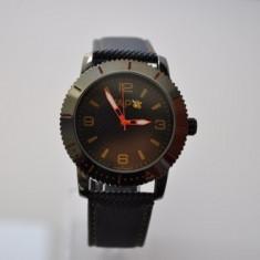 Ceas VAPO cadran negru scris galben - Ceas unisex