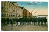 1094 - Hunedoara, ORASTIE, military barracks - old PC, CENSOR - used - 1917, Circulata, Printata