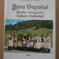 TARA OASULUI- STUDIU ETNOGRAFIC- GHEORGHE FOCSA- VOL II- CARTONATA, SUPRACOPERTA - Carte traditii populare