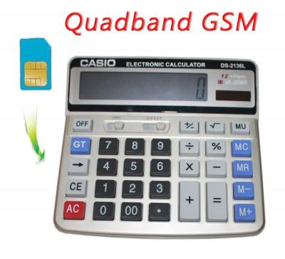Calculator Casio Spion Spy Gsm foto