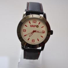 Ceas VAPO cadran alb scris rosu - Ceas unisex