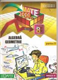 (C5193) MATE 2000 +10/11. ALGEBRA, GEOMETRIE, CLASA 8, A VIII-A, DE ANTON NEGRILA, PARTEA A II-A, EDITURA PARALELA 45, 2010, Alta editura