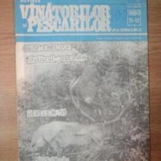 REVISTA '' VINATORILOR SI PESCARILOR '' DIN ROMANIA, NR. 11 - 12, NOIEMBRIE - DECEMBRIE 1990