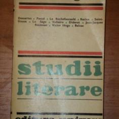 STUDII LITERARE-EMILE FAGUET BUCURESTI 1975 - Studiu literar