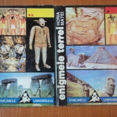 ENIGMELE TERREI de HORIA MATEI, 2 VOLUME 1995 - Istorie