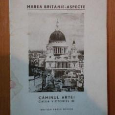 MAREA BRITANIE - ASPECTE . CAMINUL ARTEI . CALEA VICTORIEI , 45 , IULIE 1945