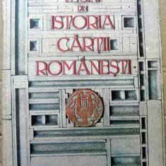 Pagini din istoria cartii romanesti - Istorie