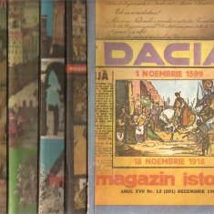 (C5122) MAGAZIN ISTORIC, ANUL XVII, 1983, NR. 1, 2, 3, 4, 5, 6, 7, 8, 9, 10, 11, 12. AN COMPLET, NR. 1-12 - Revista culturale