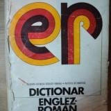 DICTIONAR ENGLEZ-ROMAN 1974