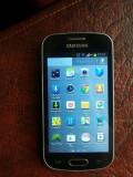 Samsung Galaxy Trend Lite  + HUSA FLIP CADOU, 4GB, Negru, Orange