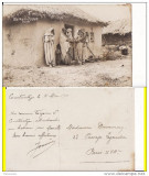 Constanta- Tipuri - rara-foto WWI, Circulata, Printata