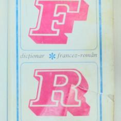 DICTIONAR FRANCEZ-ROMAN BUCURESTI 1967 - Carte in alte limbi straine