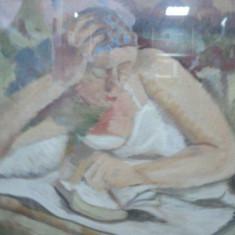 ANATOV VULPE - TANARA CITIND - Pictor roman