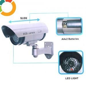 Camera falsa  video , noua , intimideaza hotii  model infrared  night / wireless