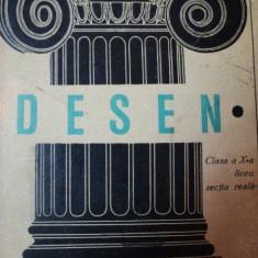 DESEN CLASA A X-A LICEU-C.LEPADATU, A.HAIDUC, BUC.1968 - Carti Mecanica