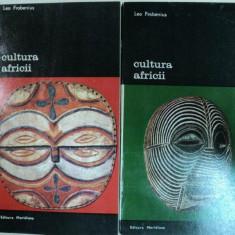 CULTURA AFRICII -LEO FROBENIUS -BUC. 1982 VOL.I-II - Istorie