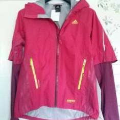 Noua! Jacheta sport material goretex, marca Adidas, femei mar L - Jacheta dama Adidas, Marime: L, Magenta