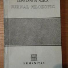 JURNAL FILOZOFIC-CONSTANTIN NOICA, BUC.1990 - Roman