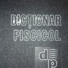 DICTIONAR PISCICOL 1978
