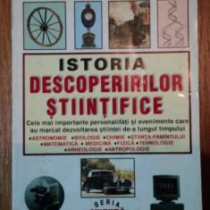 ISTORIA DESCOPERIRILOR- STIINTIFICE- ALEXANDER HELLMANS SI BRYAN BUNCH - Carti Mecanica