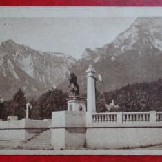 Carte postala - Busteni - Monumentul eroilor