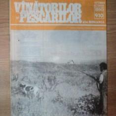 REVISTA '' VINATORILOR SI PESCARILOR '' DIN ROMANIA , NR. 9 - 10 , SEPTEMBRIE - OCTOMBRIE 1990