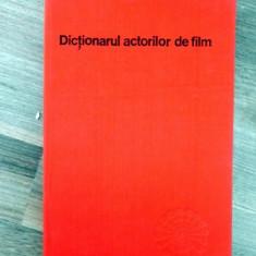 Dictionarul actorilor de film - Carte Cinematografie