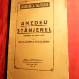 N.Vladoianu si V.Rodan - Amedeu Stanjenel - Comedie Prima Ed. 1925