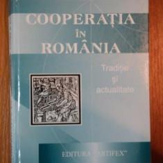 COOPERATIA IN ROMANIA de DUMITRU DANGA, DAN CRUCERU, 2003 - Carte Marketing