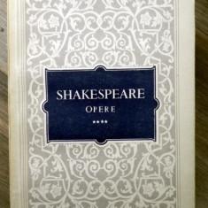 SHAKESPEARE-Opere 4 -Imblanzirea scorpiei Henric al IV lea Partea I Henric al IV lea Partea II - Carte Teatru