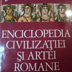 ENCICLOPEDIA CIVILIZATIEI SI ARTEI ROMANE-JEAN-CLAUDE FREDOIILLE, BUC.1974 - Carte Istoria artei