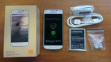 Samsung Galaxy s4 Mini, Alb, Orange, Smartphone