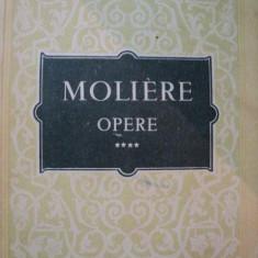 MOLIERE OPERE, VOL.4-BUC. 1958 - Carte Teatru