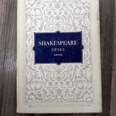 SHAKESPEARE-Opere 5 -Titus Andronicus Nevestele vesele din Windsor Henric al V lea - Carte Teatru