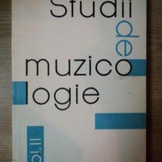 STUDII DE MUZICOLOGIE VOL. II, 1966 - Muzica Dance