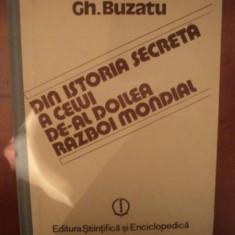 DIN ISTORIA SECRETA A CELUI DE-AL DOILEA RAZBOI MONDIAL, VOL.1, BUC1988 - Istorie